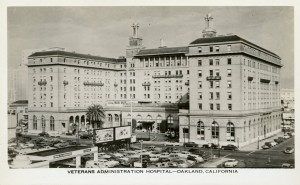 Oakland Hotel as Veterans Administration Hospital, Oakland, California